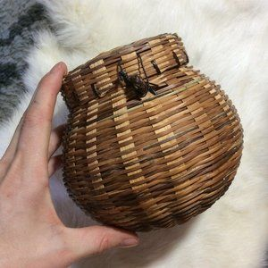Mini Basket with Top